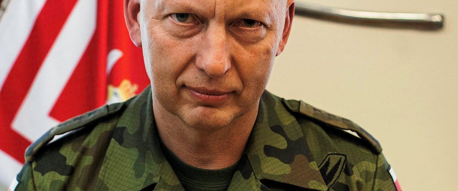 Generał Mirosław Różański, były Dowódca Generalny Rodzajów Sił Zbrojnych (fot. Dawid Żuchowicz/AG)