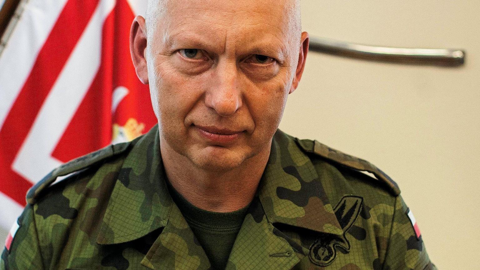 Generał Mirosław Różański, były Dowódca Generalny Rodzajów Sił Zbrojnych