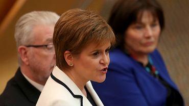 Nicola Sturgeon, pierwsza minister Szkocji