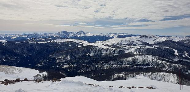 Widok ze szczytu Kolašin 1600