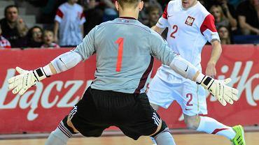 Michał Kubik z Pogoni 04 Szczecin (tu w barwach reprezentacji Polski)