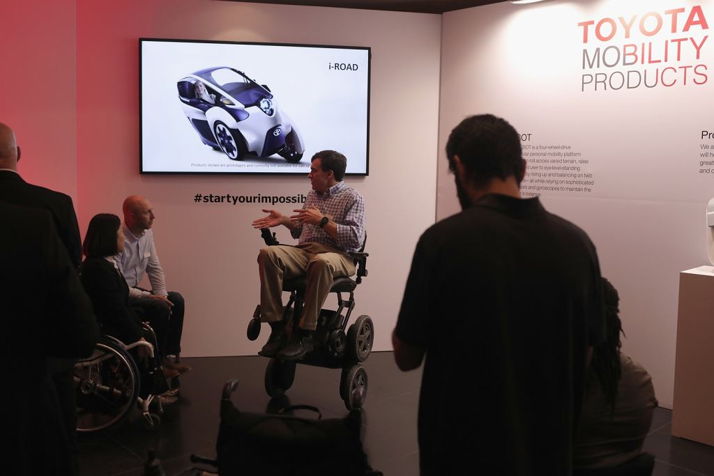 @Toyota Olympics and Paralympics Campaign: Toyota Mobility Summit