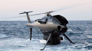 C-100 Camcopter, który jest testowany przez m.in. francuską i niemiecką marynarkę wojenną.
