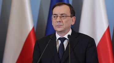 Minister spraw wewnętrznych Mariusz Kamiński.