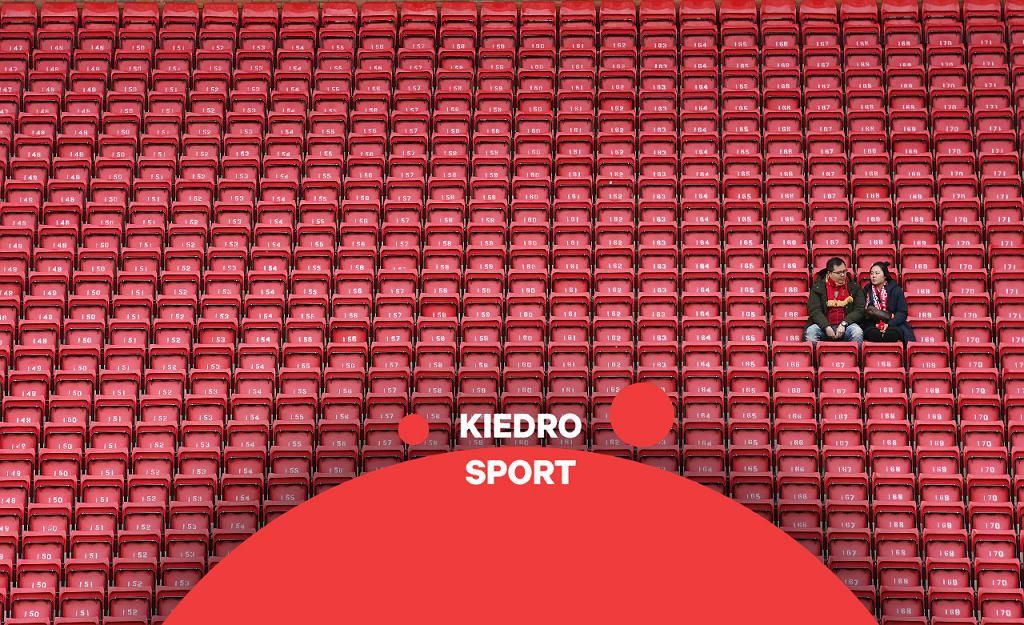 Kibice przed meczem Liverpoolu