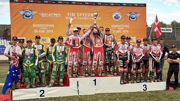 Polacy Drużynowymi Mistrzami Świata Juniorów na żużlu 2016
