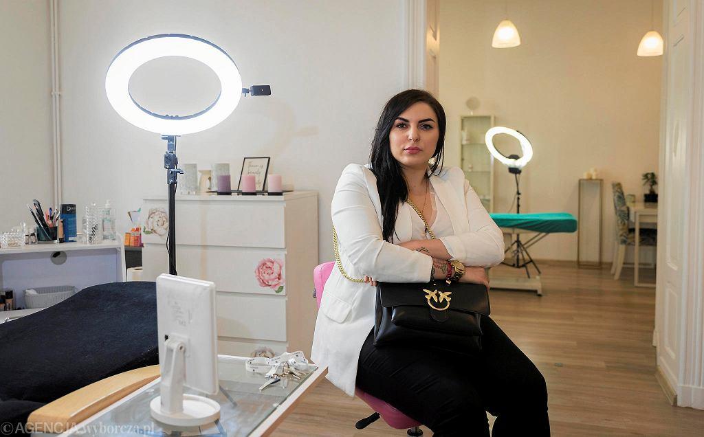 Martyna Sury-Kiernicka od sześciu lat jest właścicielką salonu NOIR Kosmetologia i Medycyna Estetyczna w Katowicach