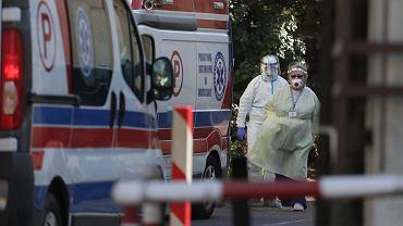 Koronawirus w Szpitalu Wolskim w Warszawie. Jest ponad 60 zakażeń