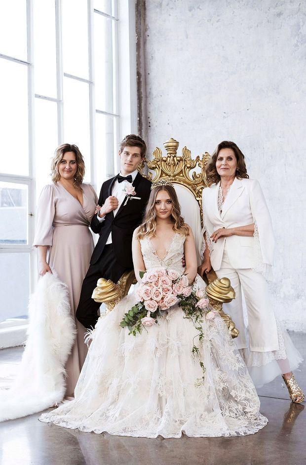 Grażyna Szapołowska, jej córka Kasia i wnuczka Karolina we wspólnej sesji zdjęciowej
