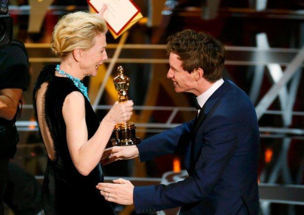 Cate Blanchett i Eddie Redmayne