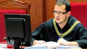Sędzia Andrzej Krzyżowski, przewodniczący VII wydziału karnego Sądu Rejonowego w Gorzowie