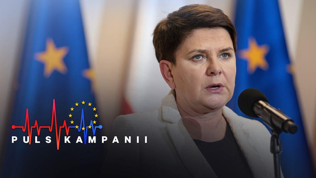 Wybory do Parlamentu Europejskiego 2019. Kandydatka PiS w Małopolsce, wicepremier Beata Szydło