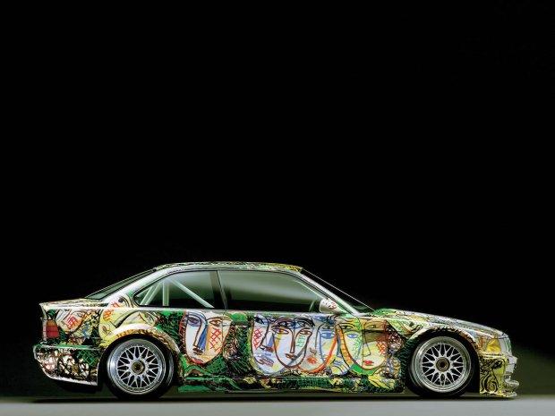 BMW Serii 3 Race Car Art Car