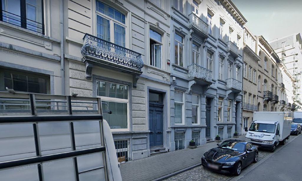 Ulica w Brukseli, przy której znajdowała się siedziba Ordo Iuris