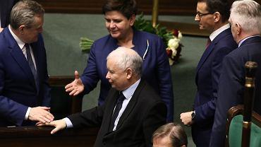 Rząd Morawieckiego z wotum zaufania