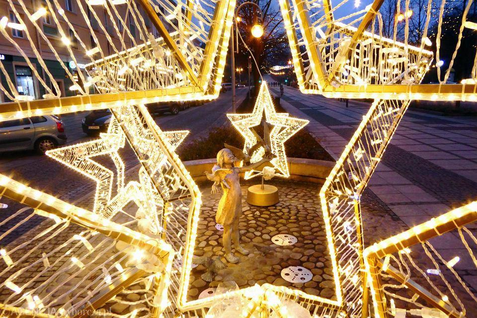 Boże Narodzenie W Częstochowie Kolejne Dekoracje świąteczne