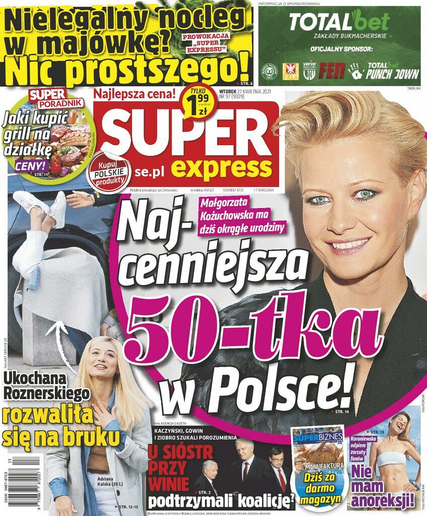 Adriana Kalska miała wypadek na planie