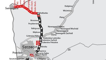 Trasa S3 w woj. zachodniopomorskim
