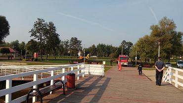 Mężczyzna utonął w Zalewie Zegrzyńskim