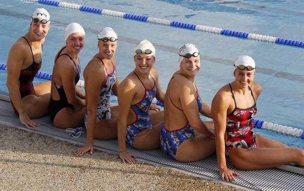Zawodniczki olimpijskie.