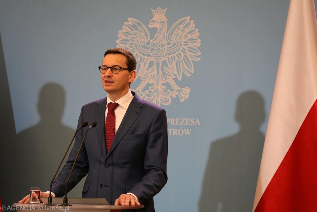 Konferencja Morawieckiego i Gowina