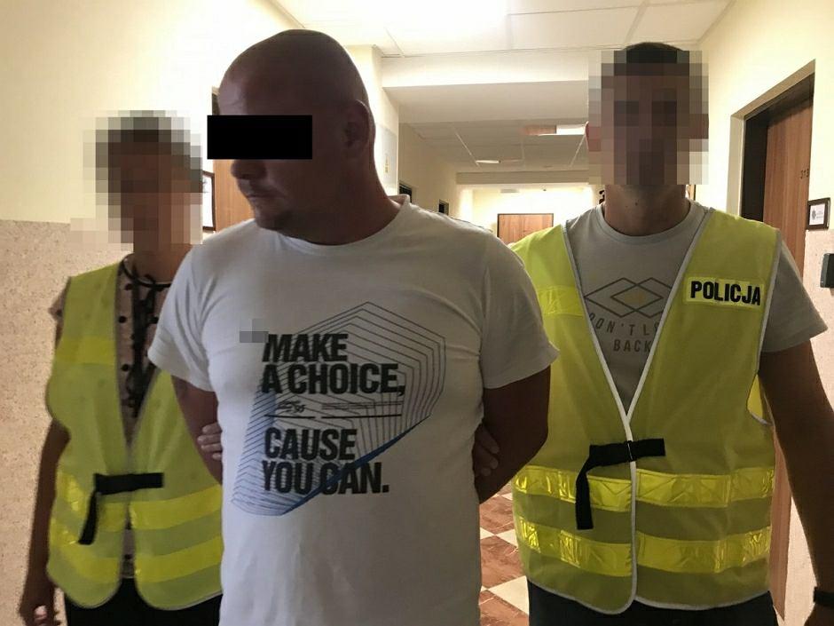Para rabusiów zatrzymana przez policjantów ze Świdnika