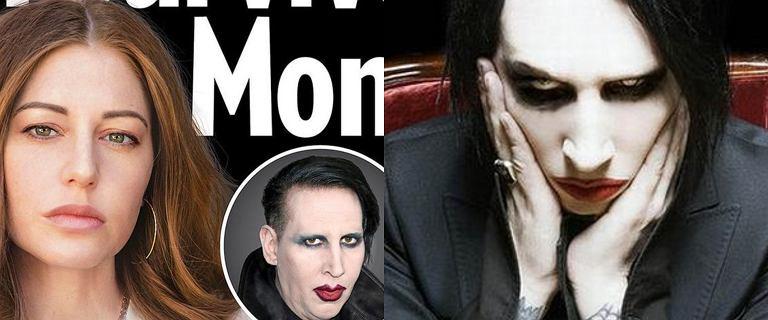 Kolejna ofiara Marilyna Mansona ujawniła wstrząsające szczegóły ich relacji
