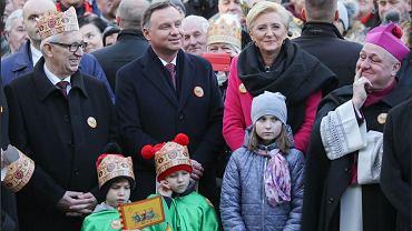 Andrzej Duda w Skoczowie w trakcie święta Trzech Króli
