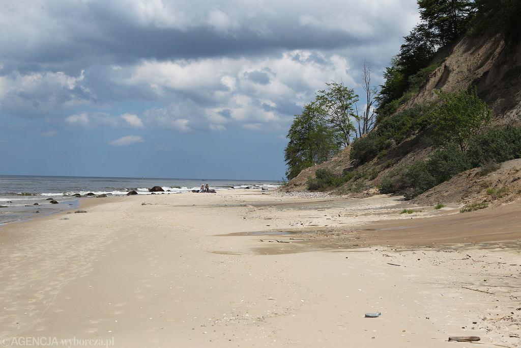 Plaża w Międzyzdrojach (zdjęcie ilustracyjne).