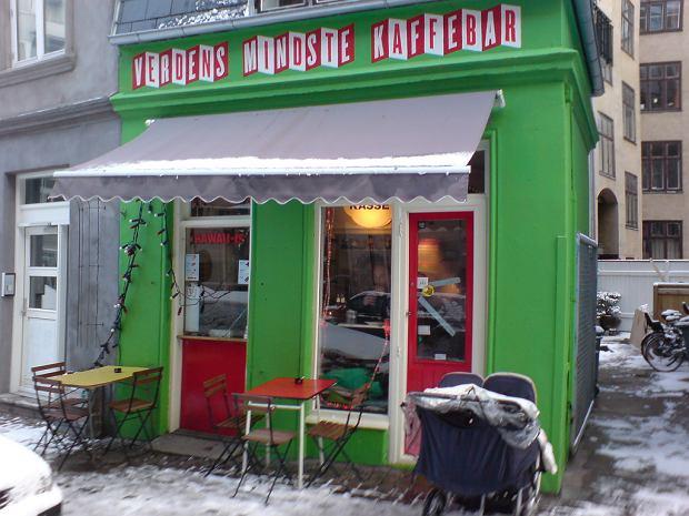 Najmniejsza kawiarnia świata w Kopenhadze