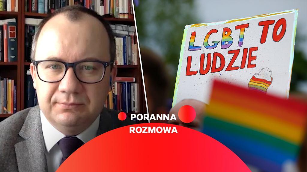 Adam Bodnar gościem Porannej rozmowy Gazeta.pl