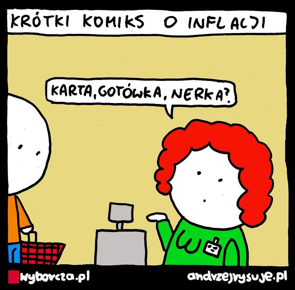Andrzej Rysuje | INFLACJA - Andrzej Rysuje | INFLACJA - null
