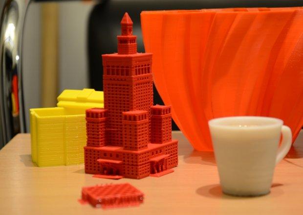 Przedmioty wydrukowane w 3D