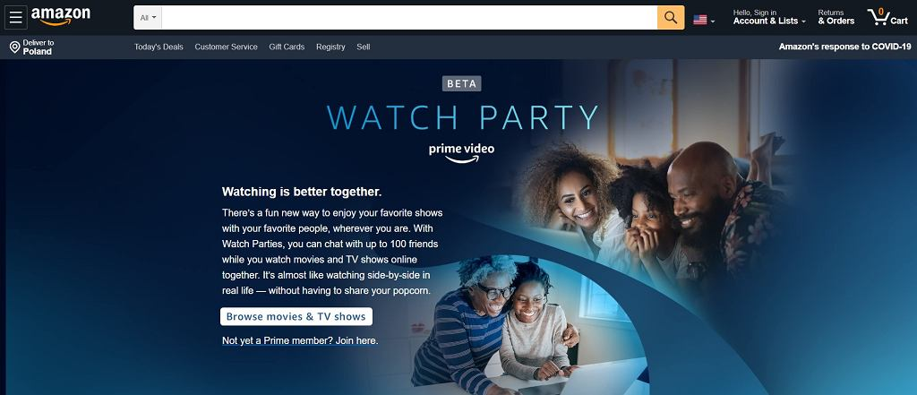 Amazon Watch Party