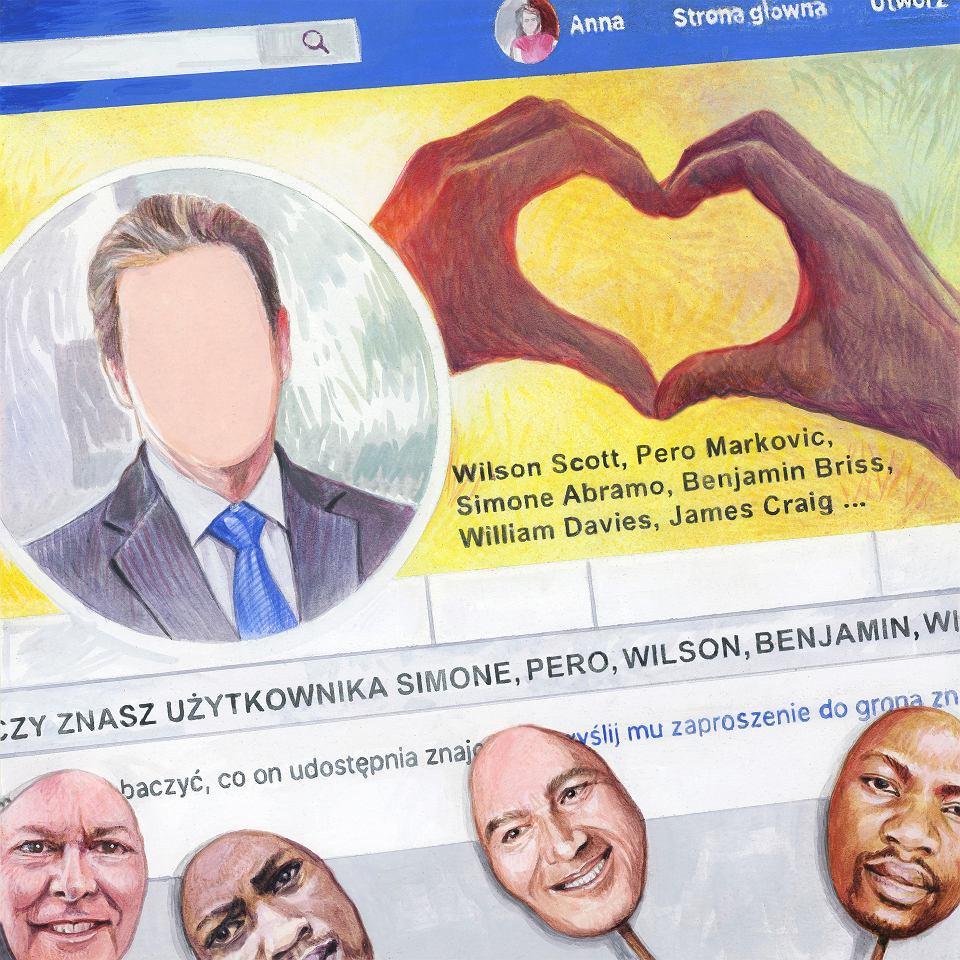 Administratorka strony Oszukana.eu odpisała, że to oszust, który skradł z internetu zdjęcia innego mężczyzny. Wtedy Jola zaczęła ryczeć
