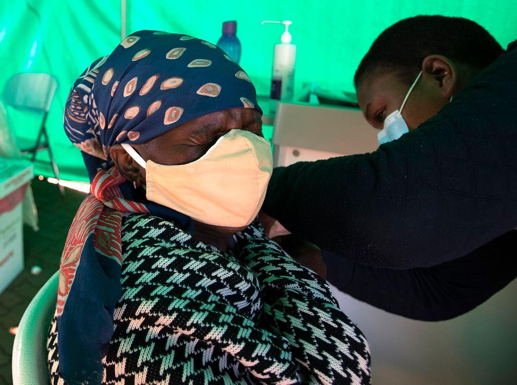 Szczepienia przeciwko COVID-19 w RPA