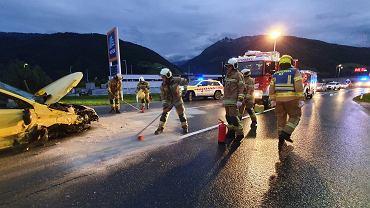 Wypadek w Austrii z udziałem Polaków.