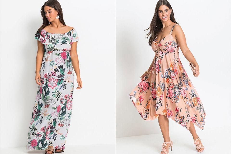 Zwiewne sukienki dla puszystych