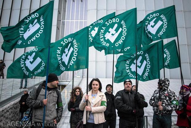 Marsz zorganizowany w Dniu Pamięci Żolnierzy Wyklętych