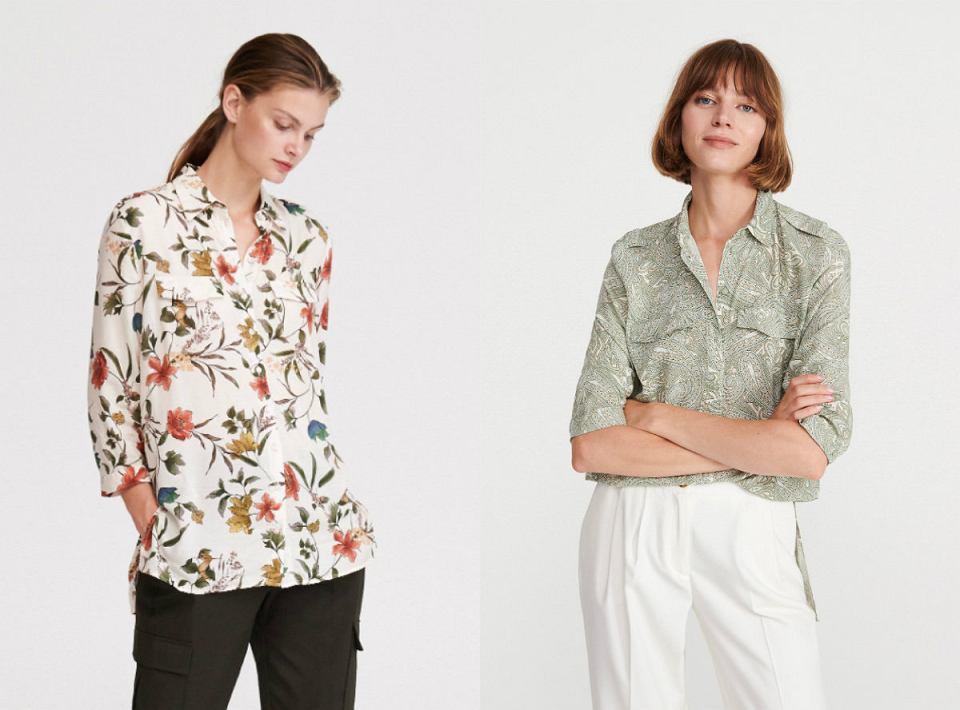 Koszule we wzory