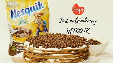 Haps Nesquik tort