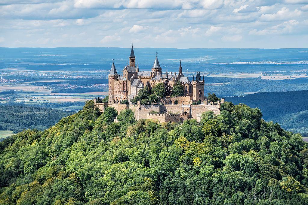 Zamek Hohenzollern, Jura Szwabska