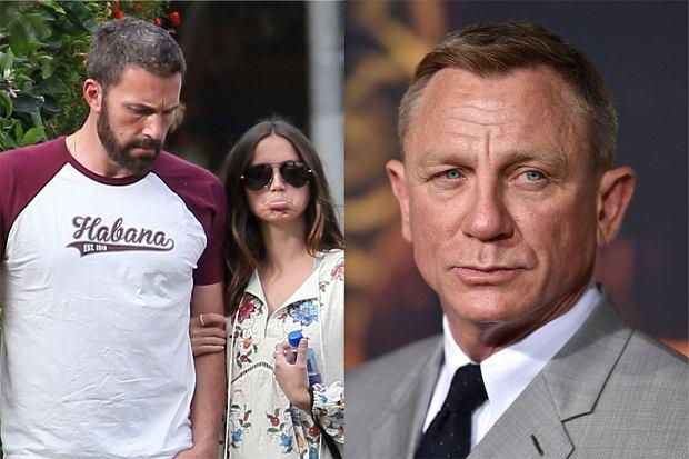 """Ben Affleck i Ana De Armas nie mogą być razem na premierze filmu """"No Time to Die"""". Producenci boją się, że przyćmią główną gwiazdę."""