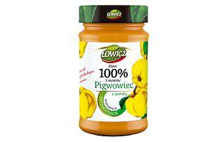 Dwa nowe, unikalne smaki dżemów Łowicz 100% z owoców  z funkcją prozdrowotną