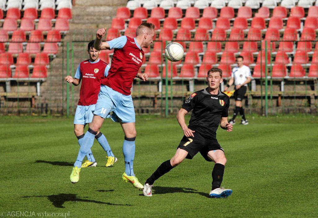 3 liga piłkarska - mecz Korona II Kielce - Czarni Połaniec