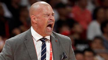 Mistrzostwa świata w koszykówce Chiny 2019. Trener reprezentacji Polski, Mike Taylor