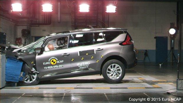 Renault Espace - test zderzeniowy