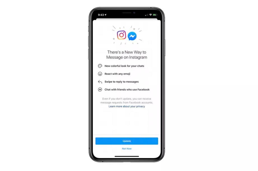 Instagram dostaje Messengera
