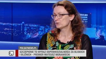 Dr Katarzyna Ratkowska była gościem Polsat News