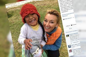 Wojciechowska nie rusza się w podróż bez torby zabawek od swojej córki. Dlaczego?
